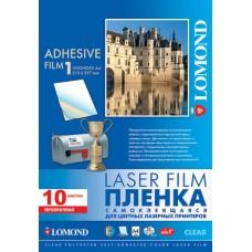 Пленка Lomond самоклеящаяся для печати прозрачная A4 10 листов (1703411)