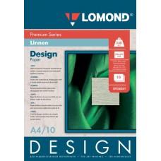 Бумага Lomond Glossy Лён А4 230г/м2 10 листов (934041)