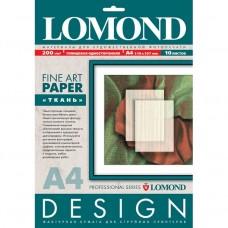 Бумага Lomond Glossy Ткань А4 200г/м2 10 листов (0920041)