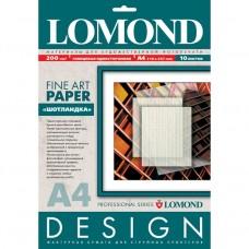 Бумага Lomond Glossy Шотландка А4 200г/м2 10 листов (0920041)