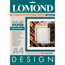 Бумага Lomond Matte Шотландка А4 200г/м2 10 листов (0921041)