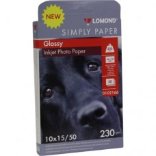 Фотобумага Lomond Glossy односторонняя A6 230 г/м2 50 листов (0102166)