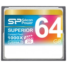 Карта памяти CF 64GB Silicon Power 1000x (SP064GBCFC1K0V10)