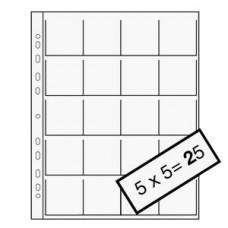 Файл для слайдов в рамках Kaiser Transparent Slide Sleeves 5х5 см 10 листов (802580)