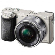 Фотоаппарат со сменной оптикой Sony ILCE-6000B 16-50mm Kit Silver