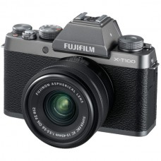 Фотоаппарат Fujifilm X-T100 Kit 15-45mm Dark Silver