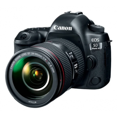 Зеркальный фотоаппарат Canon EOS 5D Mark IV Kit 24-105mm L IS II
