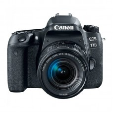 Зеркальный фотоаппарат Canon EOS 77D Kit 18-55mm f/4-5.6 IS STM