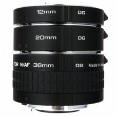 Удлинительные кольца Kenko DG EXTENSION TUBE для Nikon AF