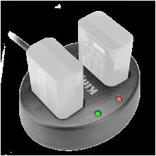 Зарядное устройство двойное KingMa BM015 для аккумуляторов NP-FW50