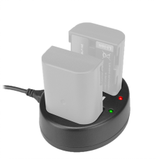 Зарядное устройство двойное KingMa BM015 для DMW-BLF19
