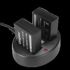Зарядное устройство двойное KingMa BM015 для NP-W126/126S