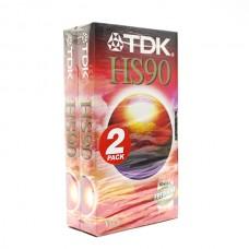 Видеокассета VHS TDK HS90
