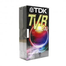 Видеокассета VHS TDK TVR-240