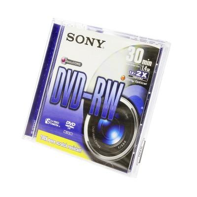 Диск Sony mini DVD-RW 1.4Gb 30 min (DMW30S2)