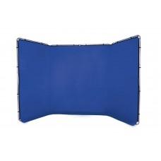 Фон складной Lastolite Panoramic Background 4m Chroma Key Blue (LL LB7943)