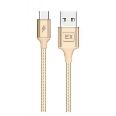 Кабель Exployd USB Type-C EX-K-509 Gold 1м