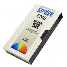 Видеокассета VHS Konica E240 Super SR