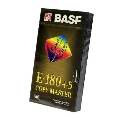 Видеокассета VHS BASF E-180 +5