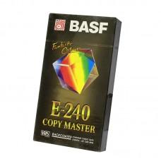 Видеокассета VHS BASF E-240 Copy Master