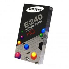 Видеокассета VHS Samsung E-240 HQ