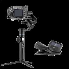 Стабилизатор универсальный Sirui Swift P1 + анаморфный объектив для смартфона Sirui VD-01