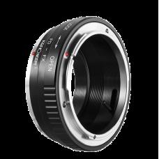 Адаптер K&F Concept для объектива Canon FD на байонет X-mount