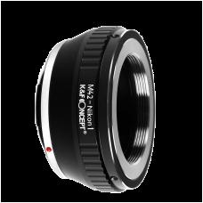 Адаптер K&F Concept для объектива M42 на байонет Nikon 1