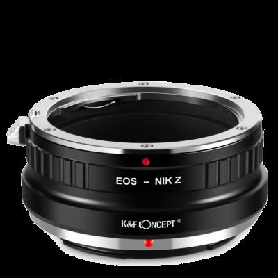 Адаптер K&F Concept для объектива Canon EF на байонет Nikon Z