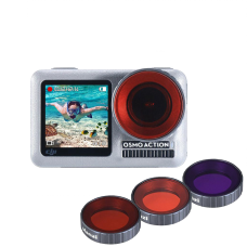 Набор светофильтров Ulanzi OA-9 Osmo Action Dive Filter (3 шт)