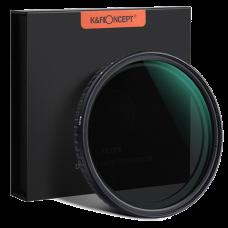Светофильтр нейтральный K&F Concept 67 мм Nano L CPL+Variable Fader NDX ND2 - ND32