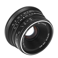 Объектив 7Artisans 25mm F/1.8 Sony E-mount Black