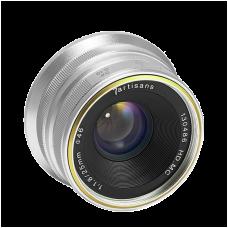 Объектив 7Artisans 25mm F/1.8 Sony E-mount Silver