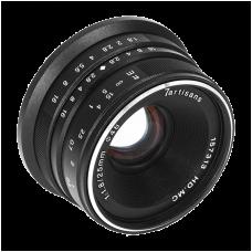 Объектив 7Artisans 25mm F/1.8 X-mount Black