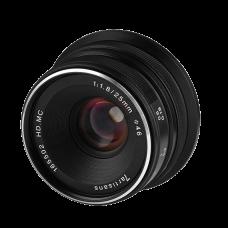 Объектив 7Artisans 25mm F/1.8 Micro 4/3 Black