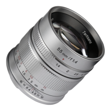 Объектив 7Artisans 55mm F1.4 Sony E Mount Silver