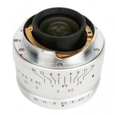 Объектив 7Artisans 35mm F2.0 Leica M Mount Silver