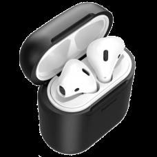 Чехол с беспроводной зарядкой Baseus для Airpods Black