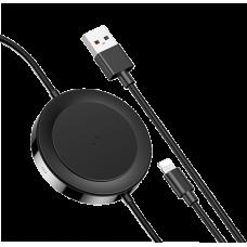 Беспроводная зарядка Baseus IP Cable Black