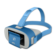 Шлем виртуальной реальности Remax VR Box RT-V05 Blue