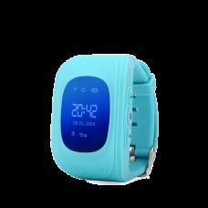 Детские GPS часы трекер Wonlex Q50 Blue
