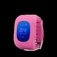 Детские GPS часы трекер Wonlex Q50 Pink