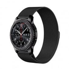 Браслет миланский для Samsung Gear S3 Black