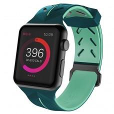 Ремешок X-Doria Action Band для Apple Watch 38/40 мм Зелено-мятный