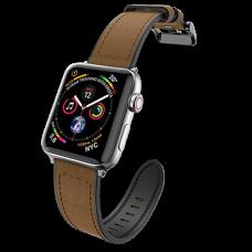 Ремешок X-Doria Hybrid Leather для Apple watch 42/44 мм Коричневый