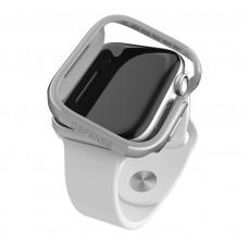 Чехол X-Doria Defense Edge для Apple Watch 40 мм Серый/Серебро