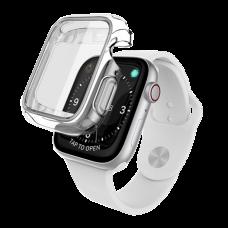 Чехол X-Doria Defense 360x для Apple Watch 40 мм Прозрачный