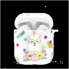 Чехол Kingxbar Adorkable для Apple Airpods Candy Alpaca