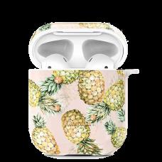 Чехол Kingxbar Fresh для Apple Airpods Pineapple