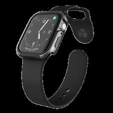 Чехол X-Doria Defense Edge для Apple Watch 44 мм Charcoal